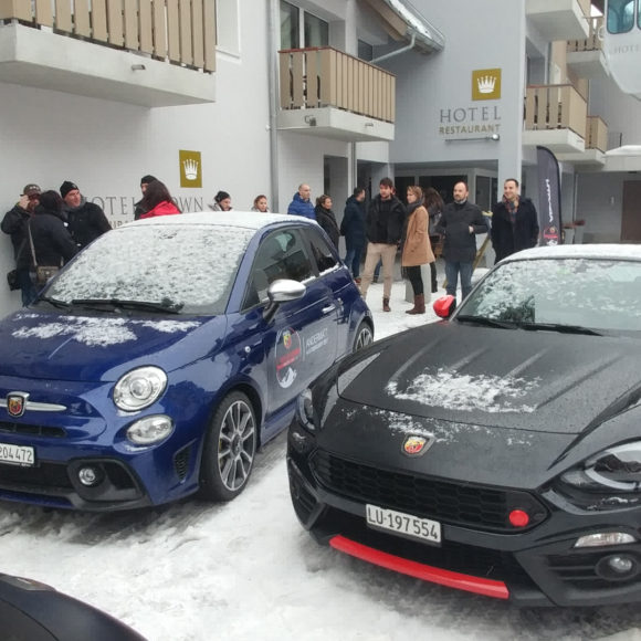 arca studios abarth docks dora video