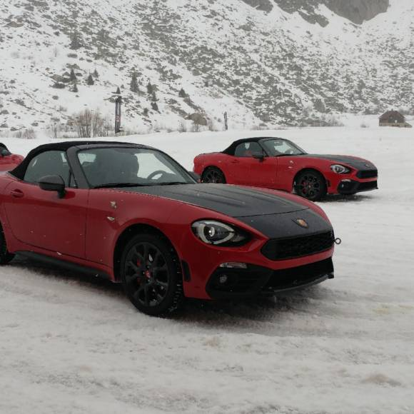 ABARTH / WINTER TOUR 2017 ANDERMATT