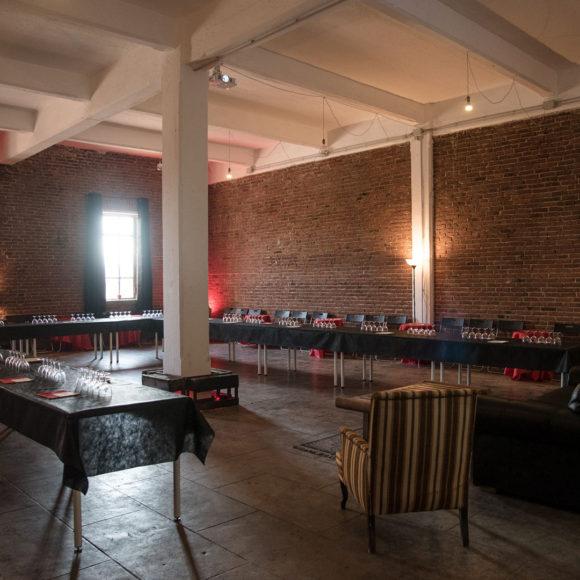 arca studios libo teatro di posa docks dora torino tripel b birra notte delle botti gabriella di muro degustazione mattoni industrial evento