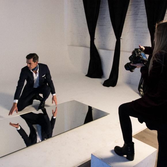 arca studios details srl gabriella di muro teatro di posa limbo shooting fotografia docks dora moda modello modella light specchio nikon spot