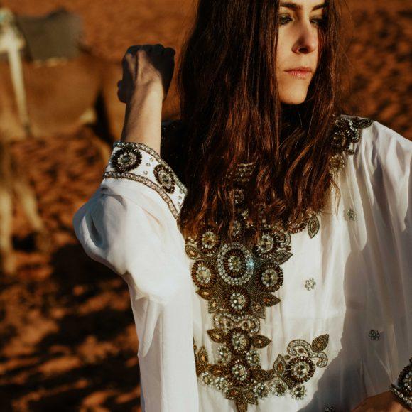Editorial Shooting on the Sahara Desert