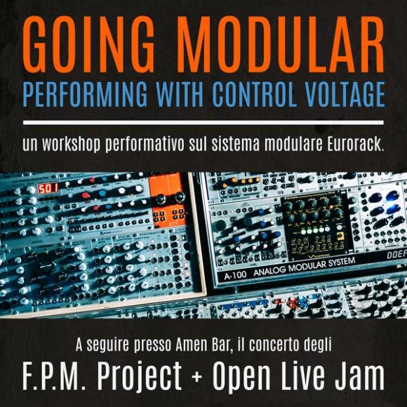 Percorsi Sonori; Going Modular; sintesi modulare