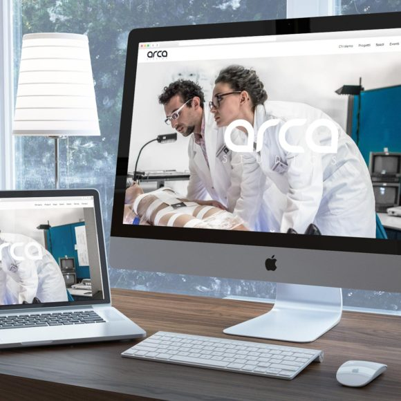 Sito internet ARCA Studios