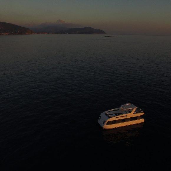 arca studios yacht luxury portofino italy beach video commercial brand overblue